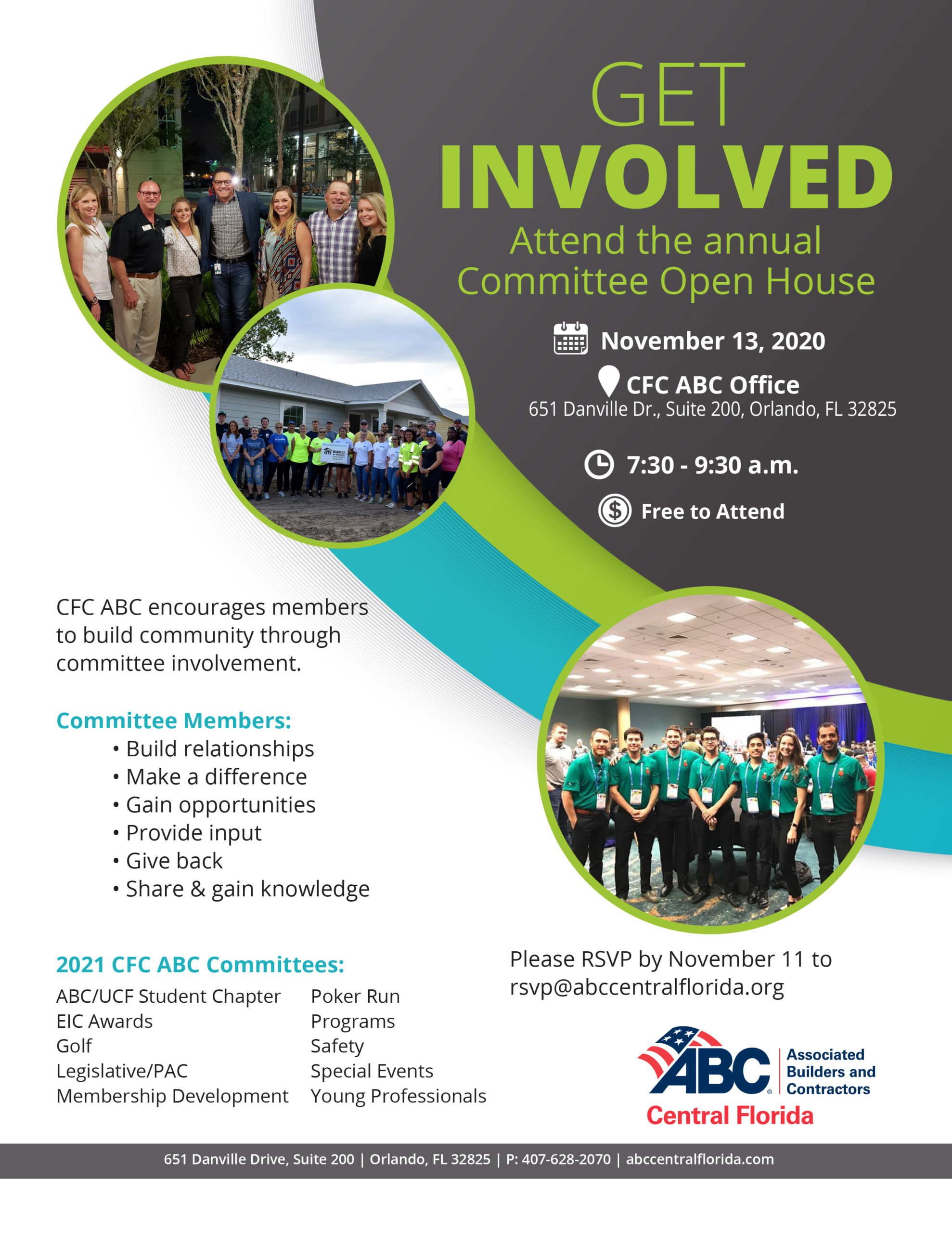 Committee Open House @ CFC ABC Office
