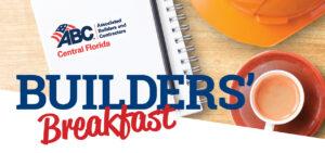 Builders' Breakfast Presentations